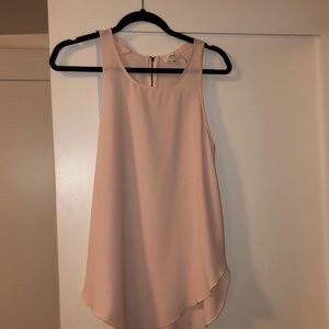 Wilfred light pink tank top